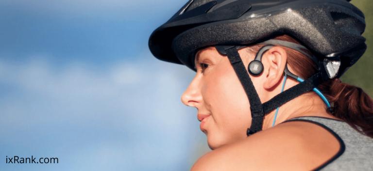 bone conduction headphone for cycling